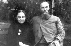 Wegbereiter Yehoshua Hankin und Ehefrau Olga