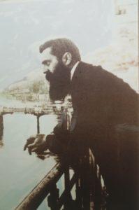 Der Wegbereiter des Jüdischen Nationalfonds schlechthin: Theodor Herzl