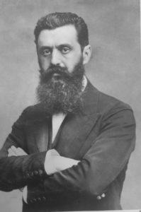 Wichtigster Wegbereiter des Jüdischen Nationalfonds war Theodor Herzl