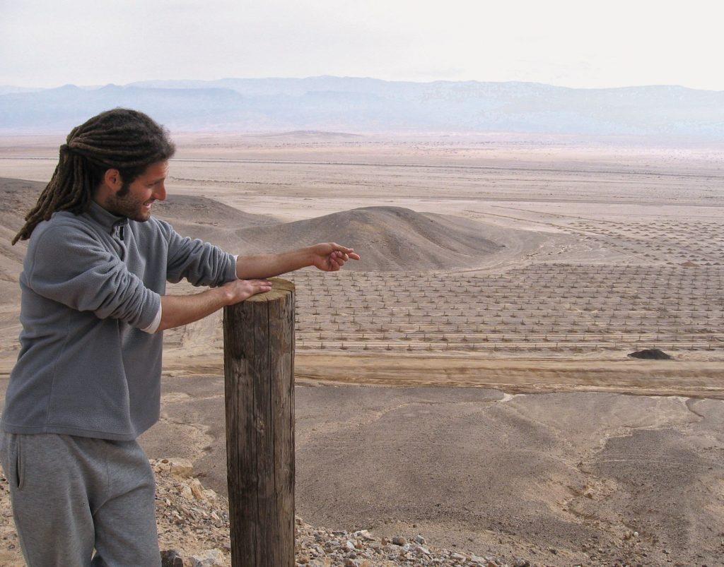 Wissenswertes über Israel - Infrastruktur: hier werden bald Dattelpalmen wachsen
