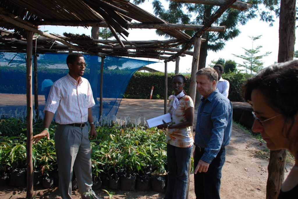 Internationaler Austausch zwischen KKL und Ruanda