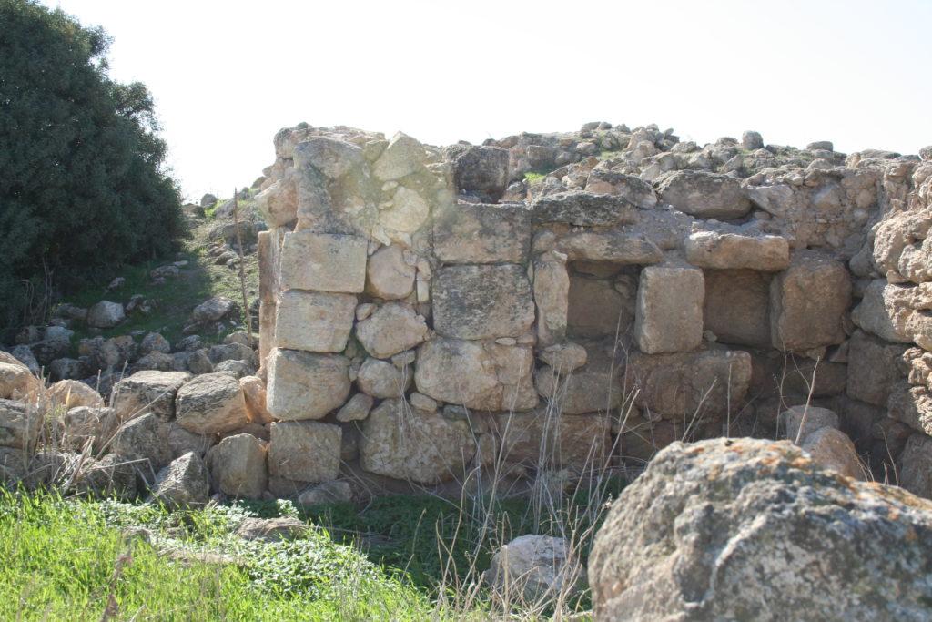 Steinmauern archäologisch Adulam