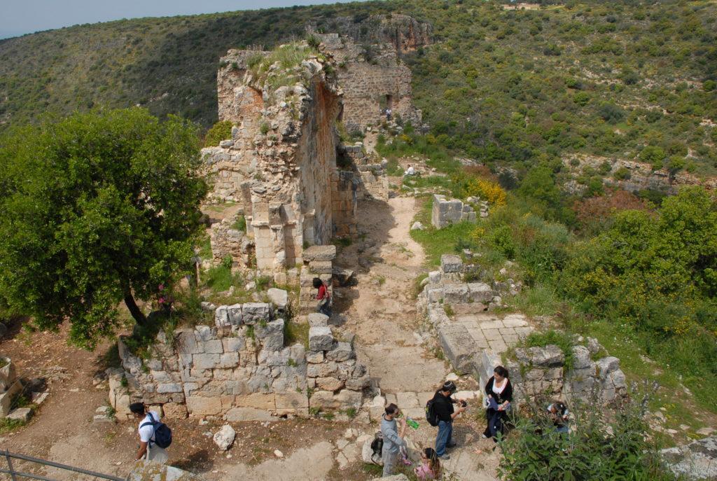 Archäologische Spuren an jeder Ecke in Israel