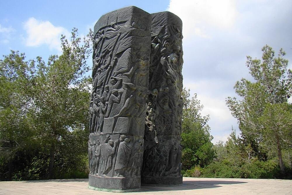 Monument der Feuerrollen im Märtyrerwald