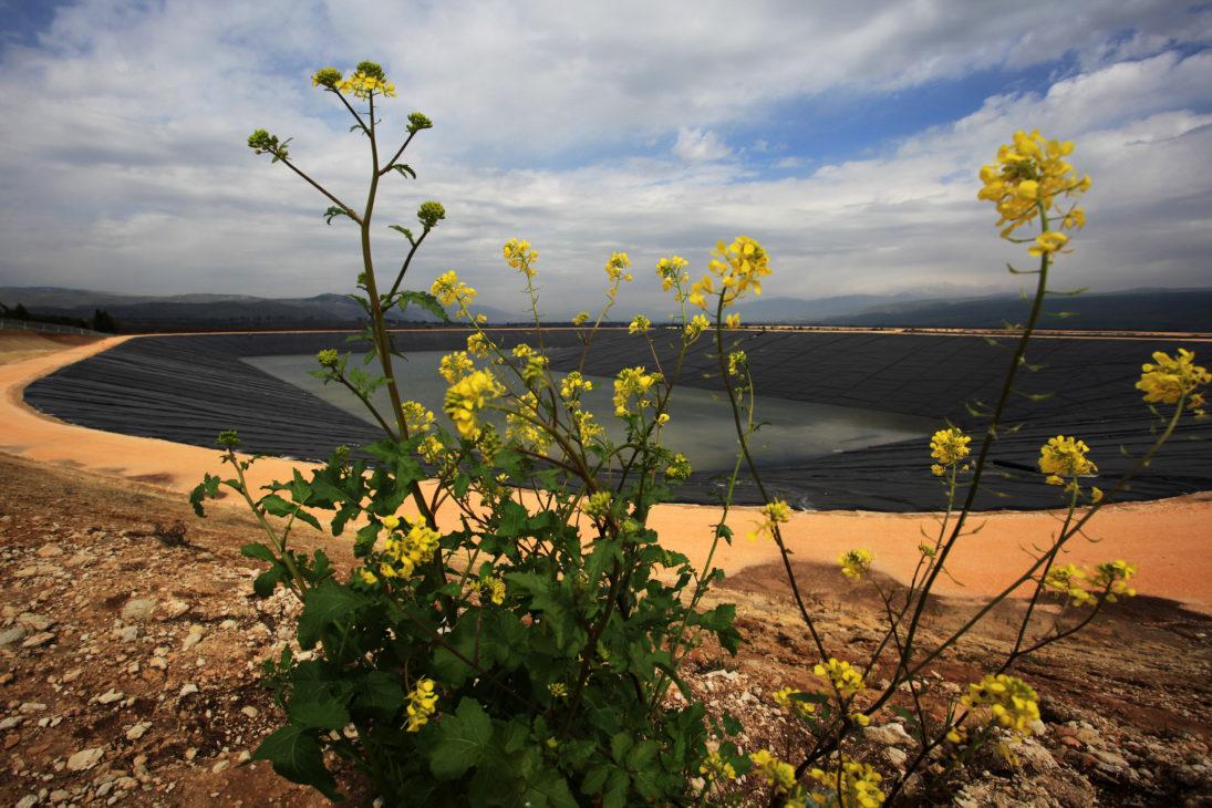 Wasserreservoir-Ayelet Haschahar-Gadot