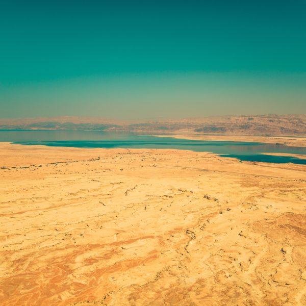 Wüste und Wasser in Israel